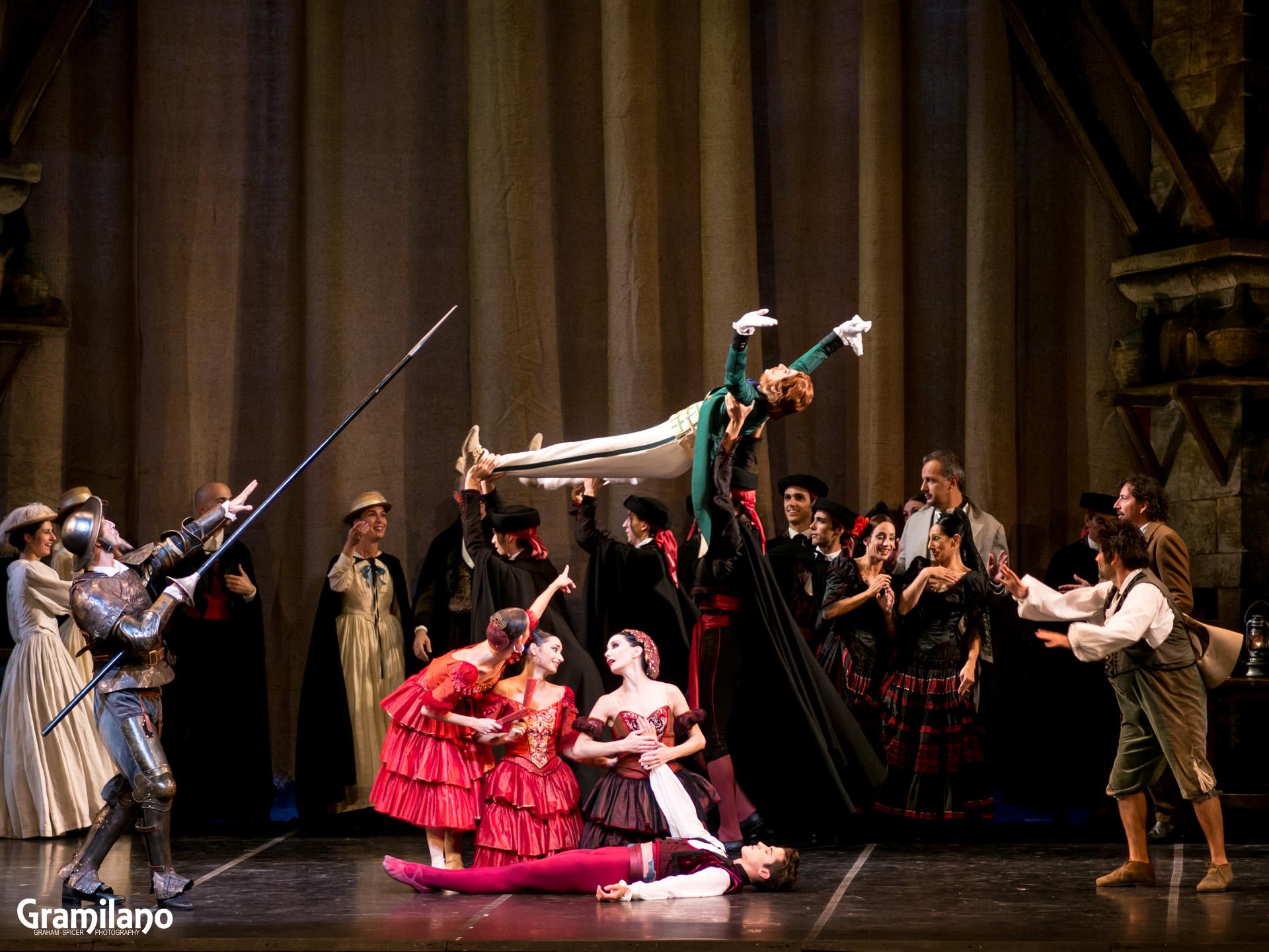 Tamara Rojo and Claudio Coviello in Don Quixote