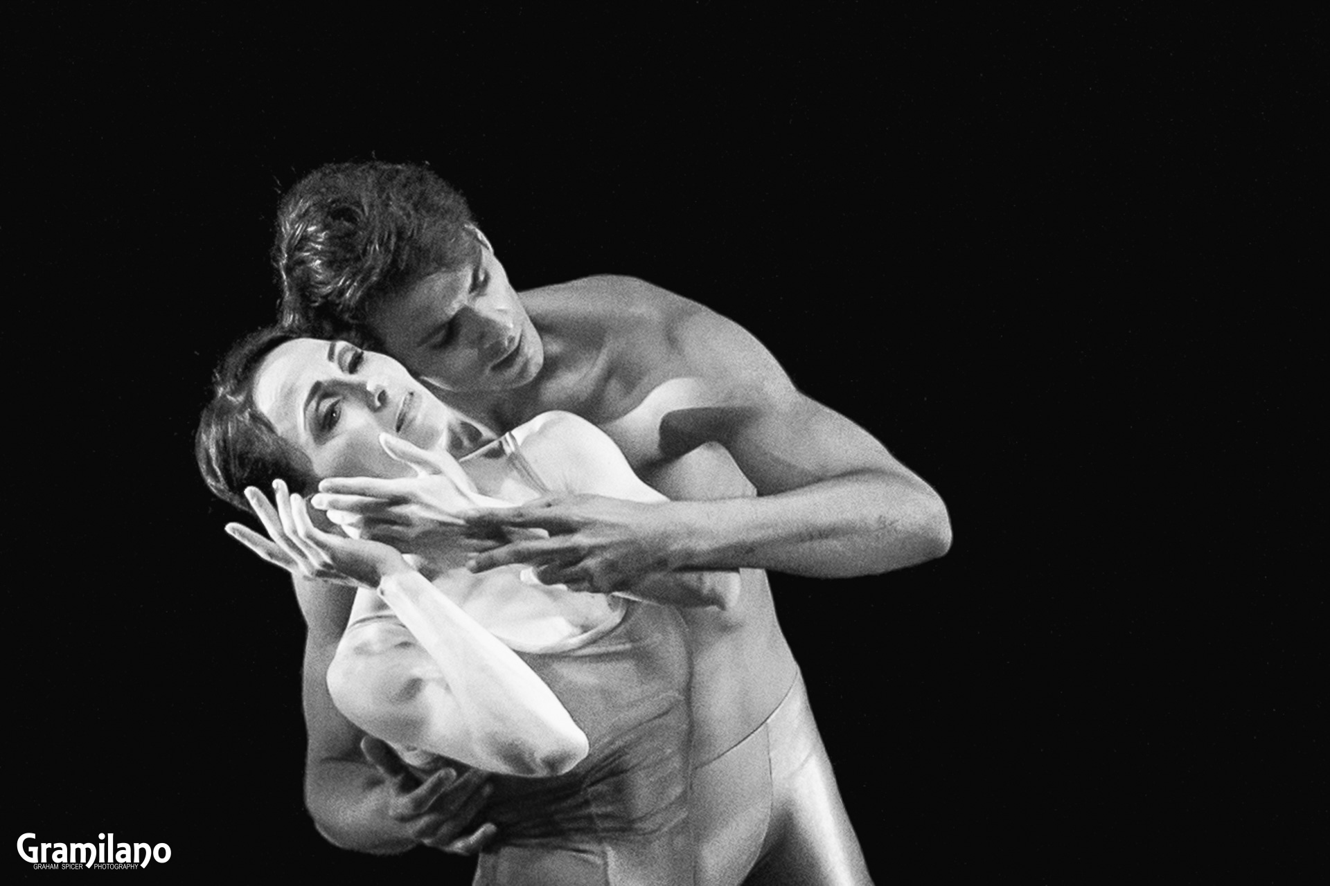 Anna Tsygankova and Constantine Allen in Christopher Wheeldon's Duet