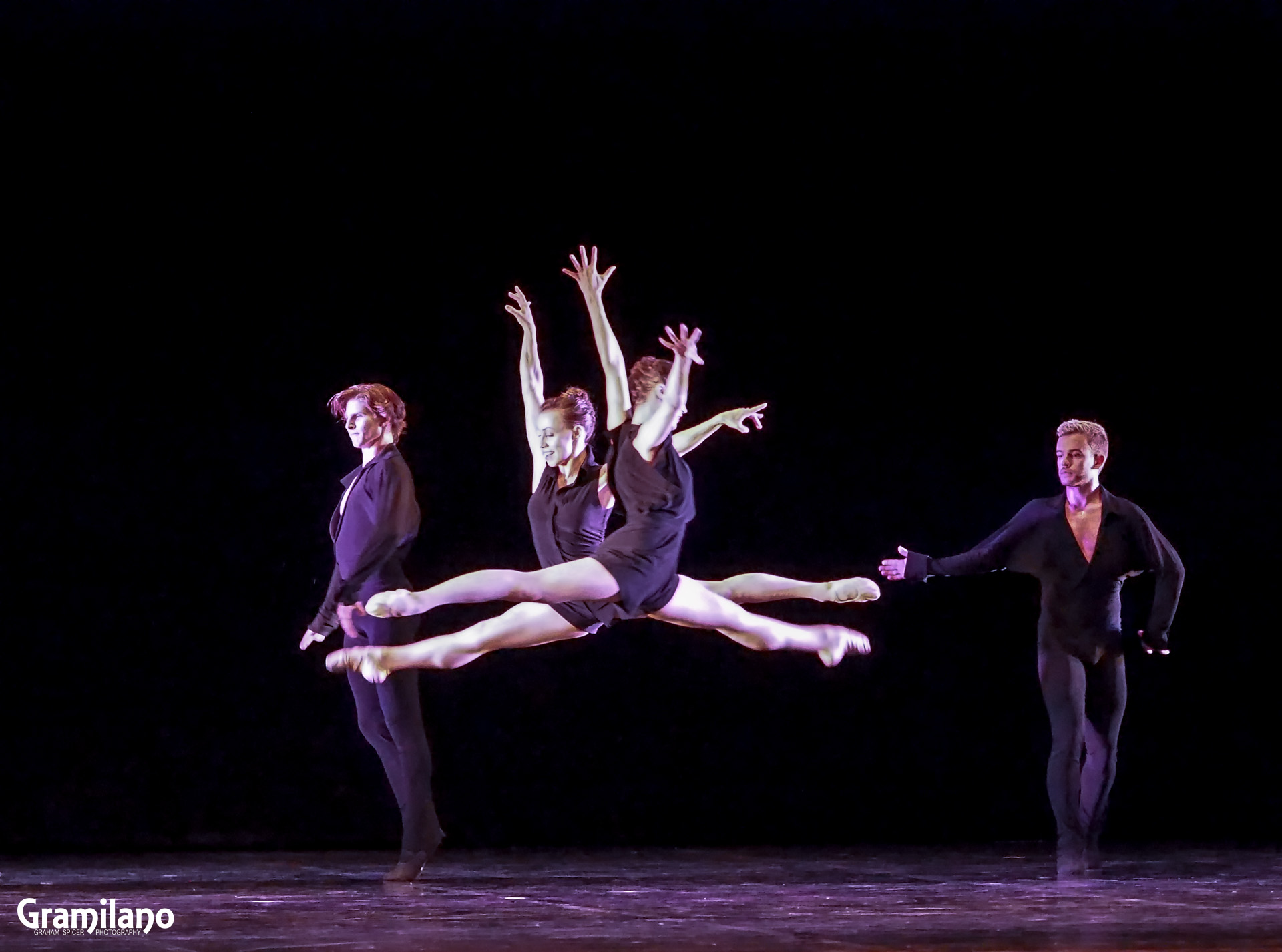Twyla Tharp Dance in Beethoven Opus 130
