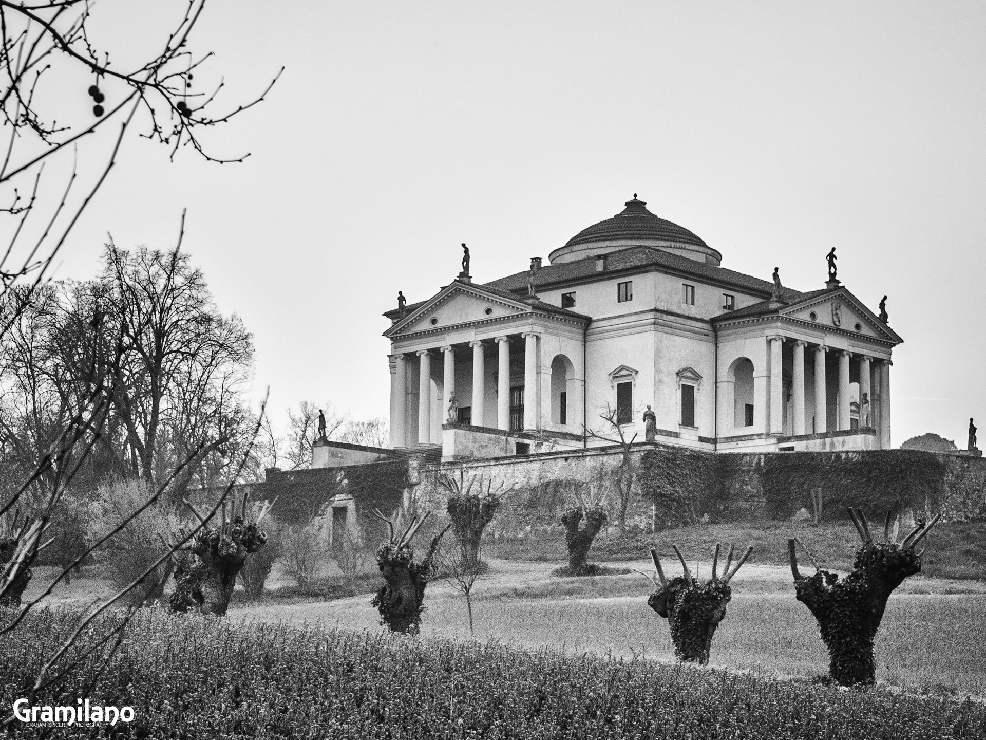 Palladio's Villa La Rotonda, Vicenza