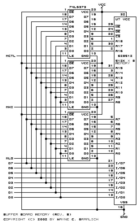 CNC Controller Buffer Board (Rev. B)