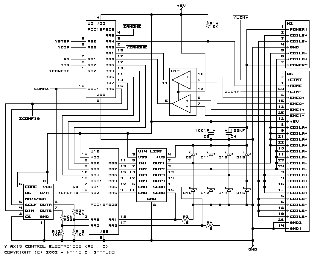 CNC Controller Motion Board (Rev. C)