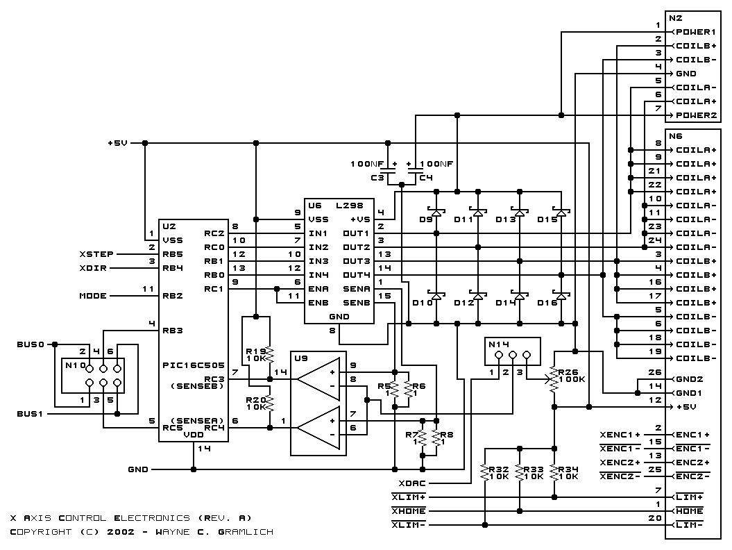CNC Controller Motion Board (Rev. A)