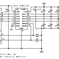 L298 H Bridge Circuit Diagram Mk Dual Rcd Consumer Unit Wiring Cnc Controller Motion Schematics (rev. D)