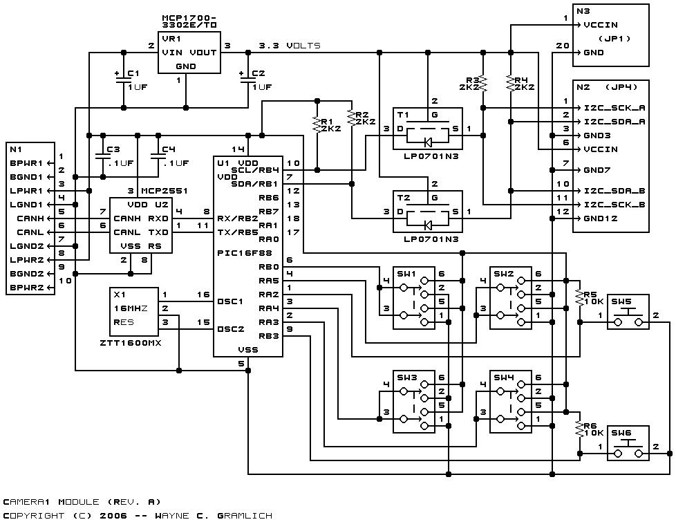 Camera1 Module (Revision A)
