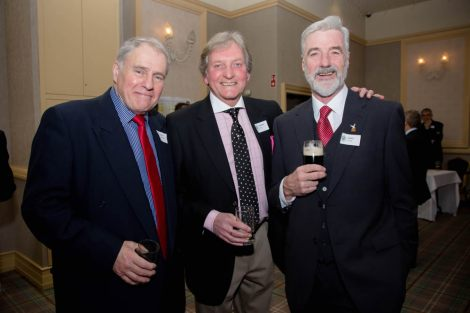 David Carson, Warren Cree and James O'Fee, from the Class of 1967
