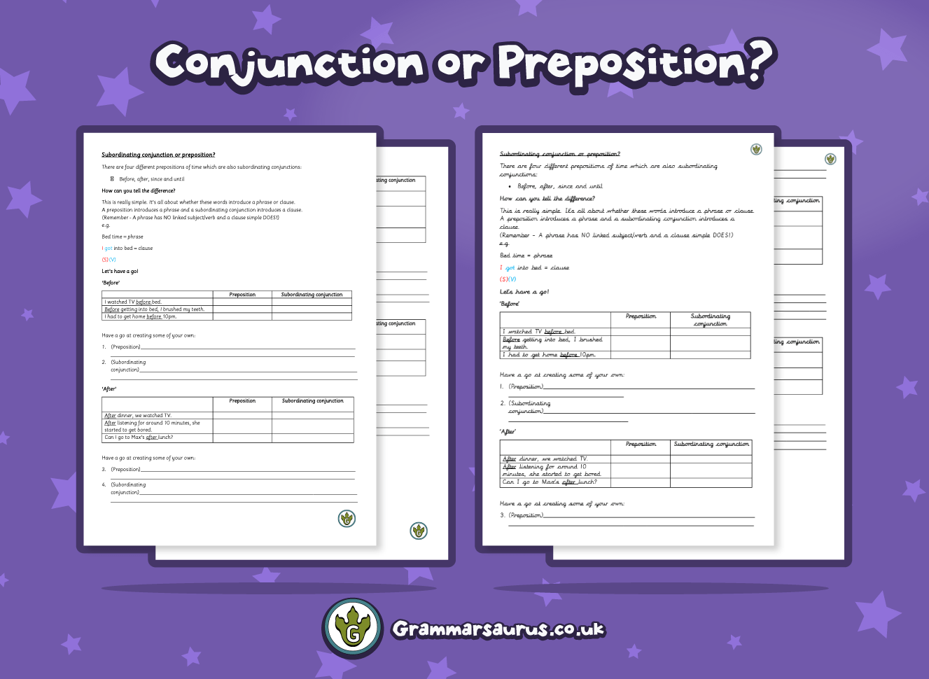 hight resolution of Preposition Revision Worksheet   Printable Worksheets and Activities for  Teachers