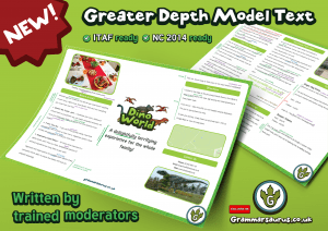 NEW! Year 6 Greater Depth Model Text Persuasive Leaflet Blank And