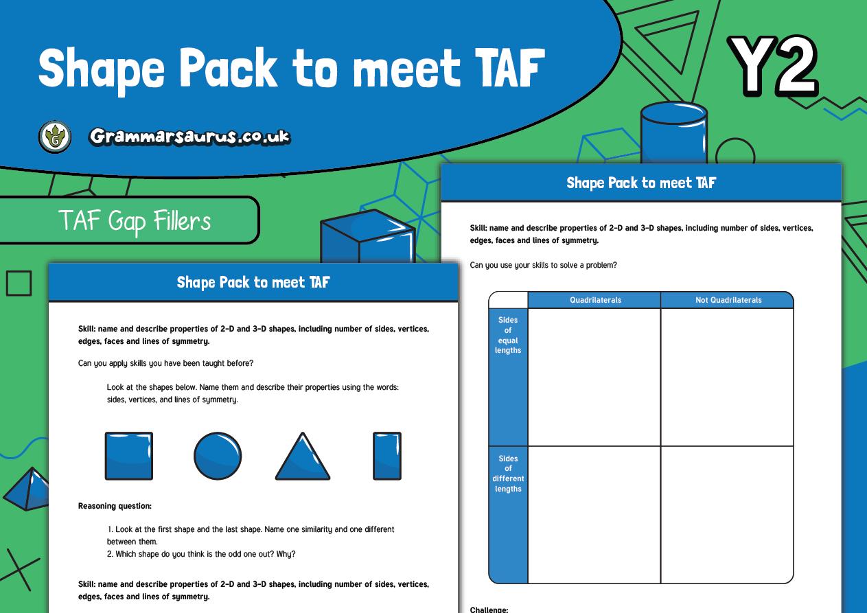 Year 2 Maths Taf