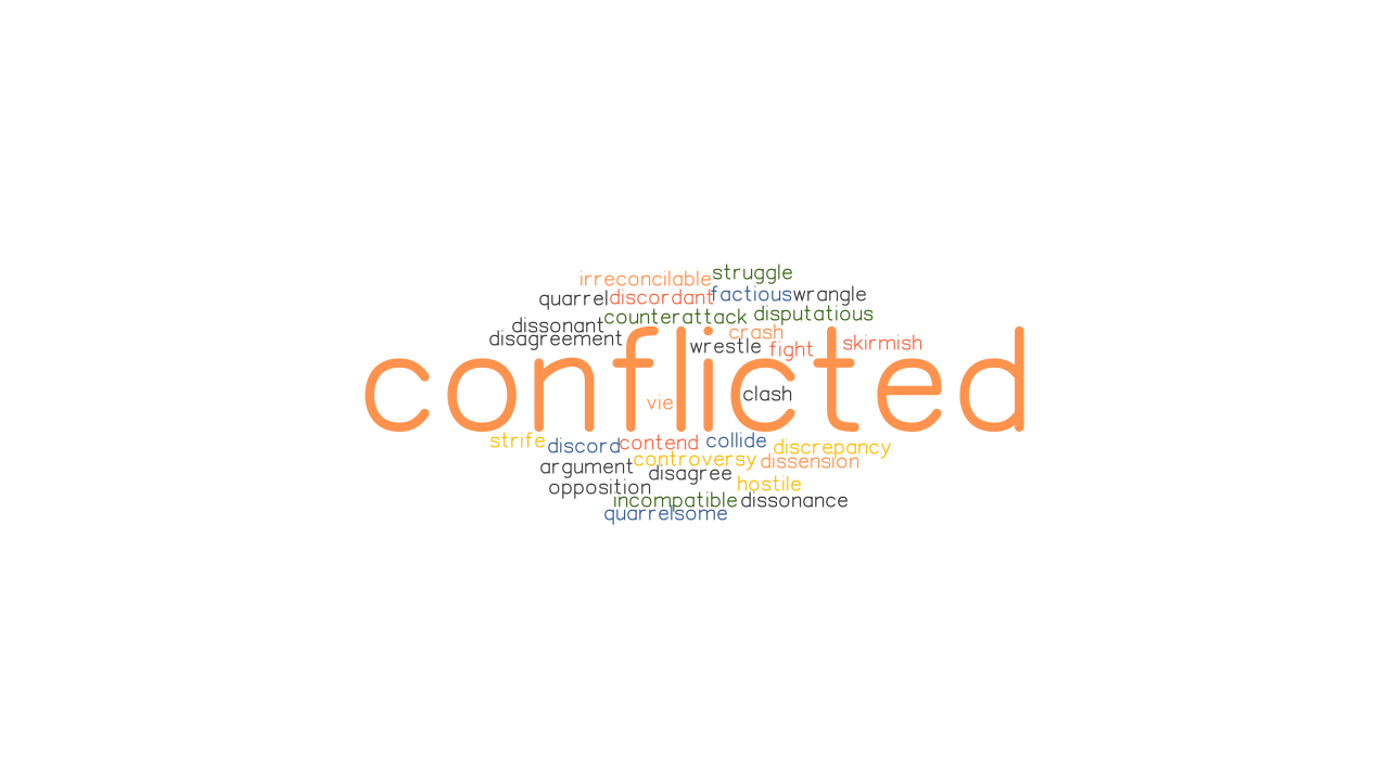 CONFLICTED: Synonyms and Related Words. What is Another Word for CONFLICTED? - GrammarTOP.com