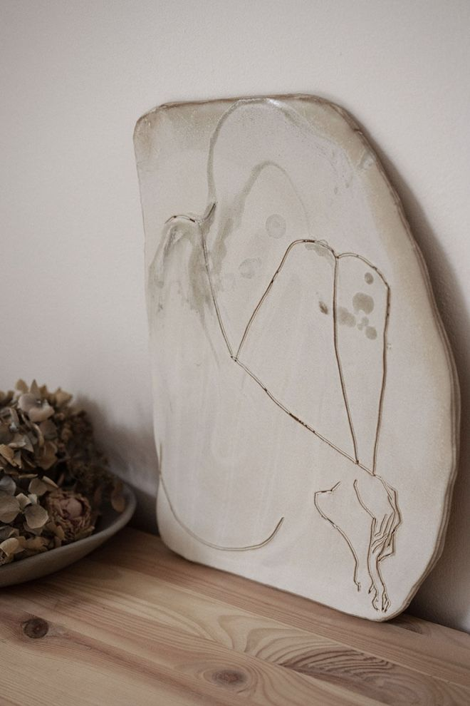 Ceramic Frederic Forest Marion Graux