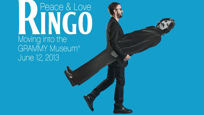 Exposición Ringo: Peace & Love
