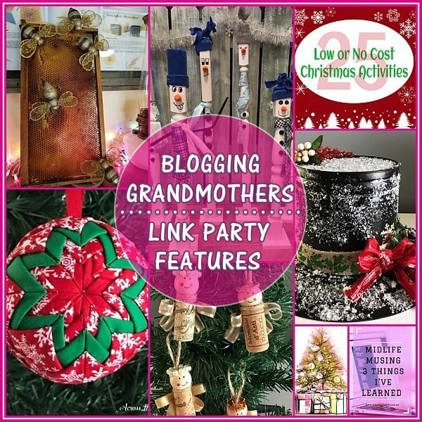 #BlogginGrandmothersLinkParty for Jan-1-2018