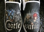 castlevania_painted_slip_ons_by_crimsonvip3r-d3dsgj2
