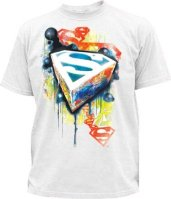 T-shirt Superman graffiti