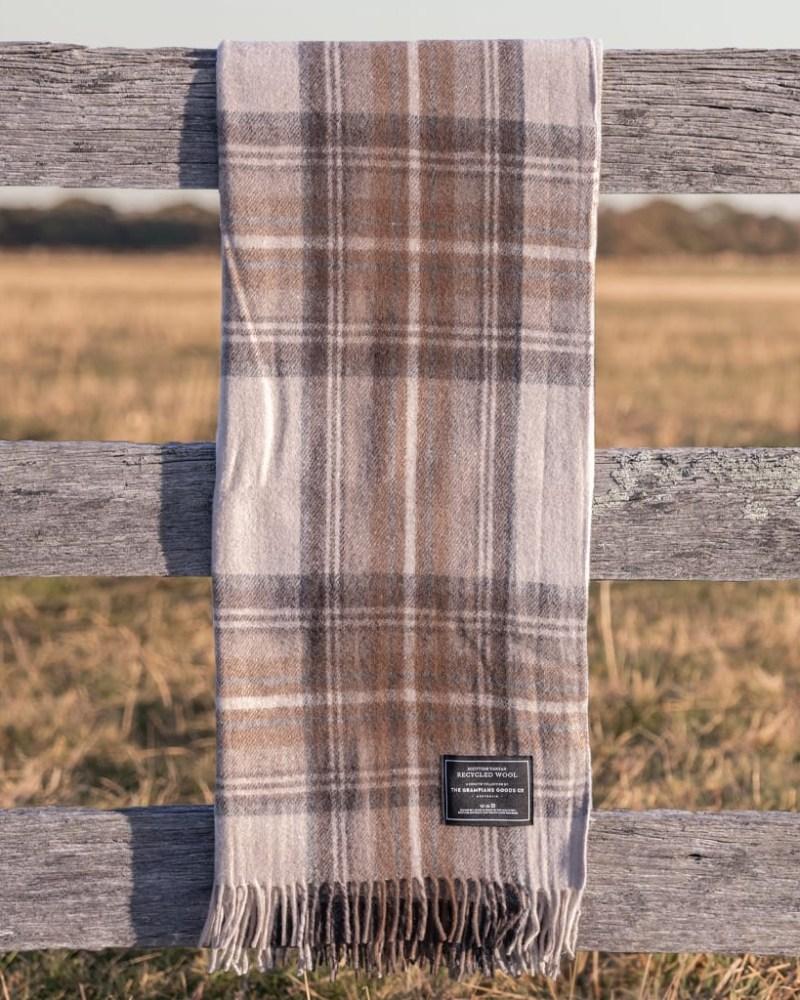Malt - Grampians Scottish Tartan Blankets