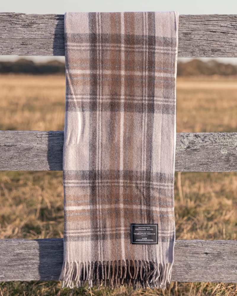 Malt - Grampians Scottish Tartan Blankets