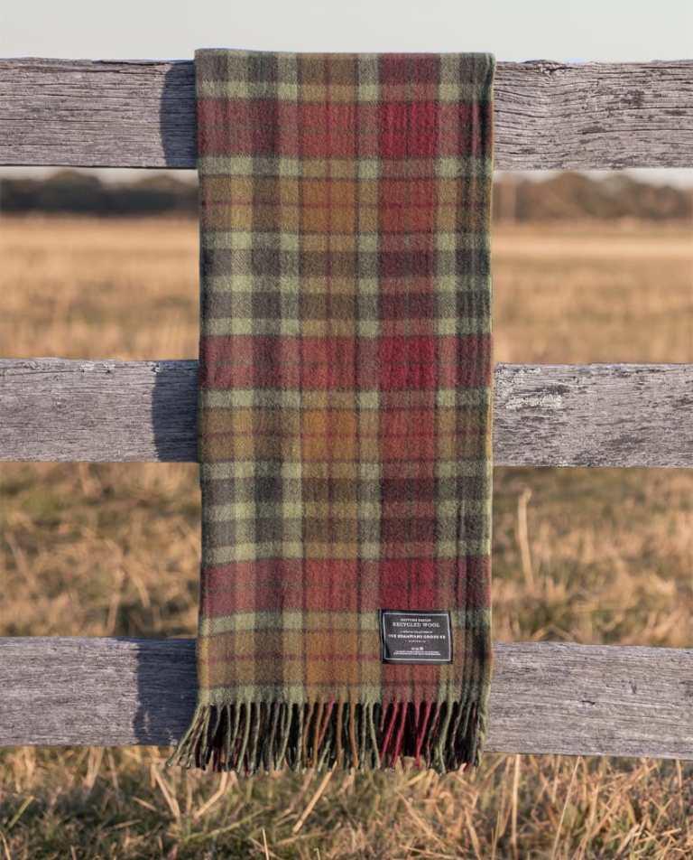 Maple Moss - Grampians Scottish Tartan Blankets