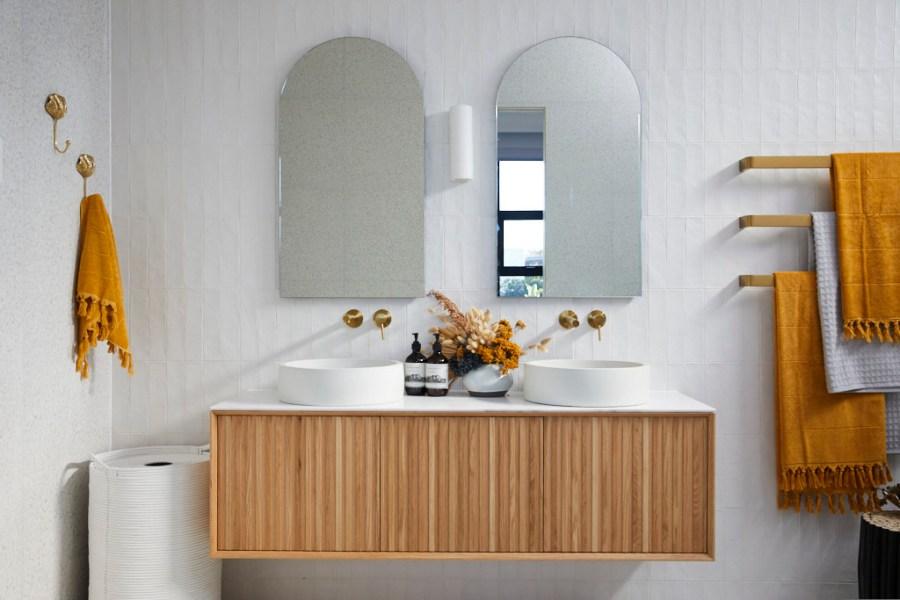 The Block Luke Jasmin Bathroom Grampians products - closer