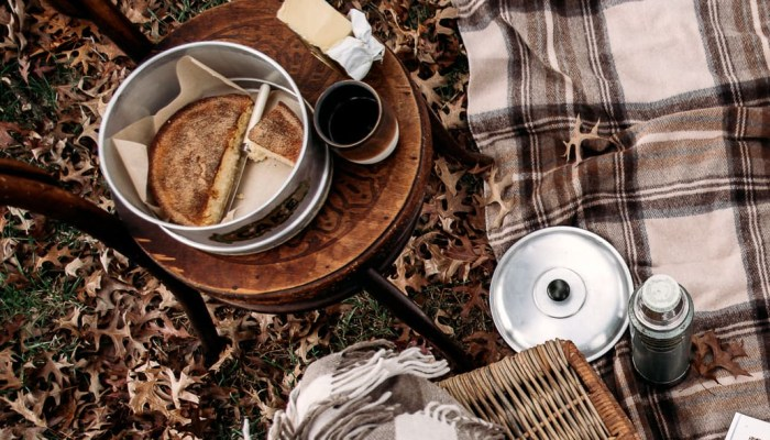 Picnic with teacake at home Belinda Neame Hold Cottage Tim Bean Photography Grampians Goods Co
