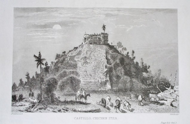 58-Catherwood-Castillo-Chichen-Itza-1024x667