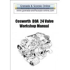 Cosworth BOA Workshop Manual