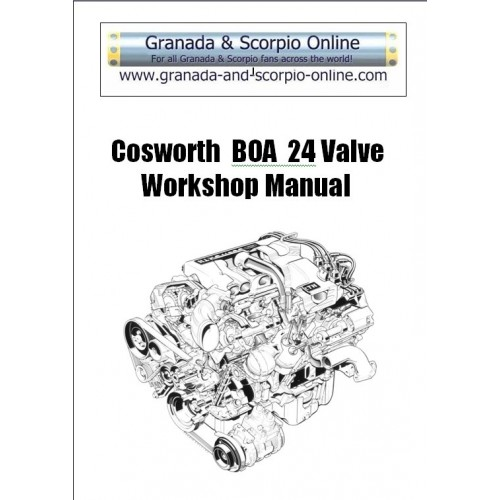 Cosworth BOA Workshop Manual