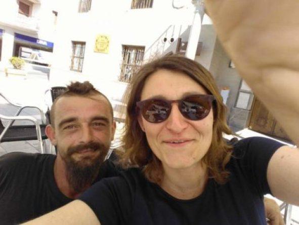 Petr, a la izquierda
