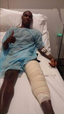 Ighalo, de baja entre dos y tres meses tras ser operado en Barcelona
