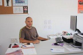 Luis Cotarelo, educador sociocultural del Centro de Servicios Sociales de la Chana