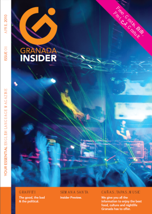 Hot off the press- The very first issue of Granada Insider