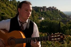 Mark Shurrey Flamenco guitar in granada