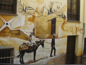 Graffiti in Granada (2/6)