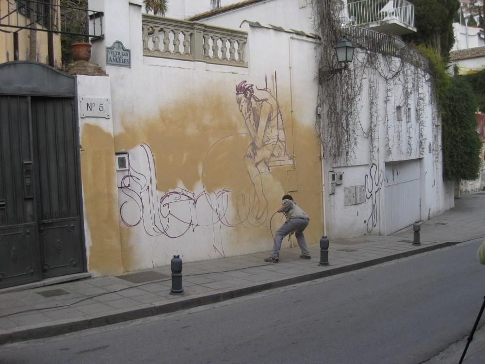 El Niño de las Pinturas at work. (3/6)