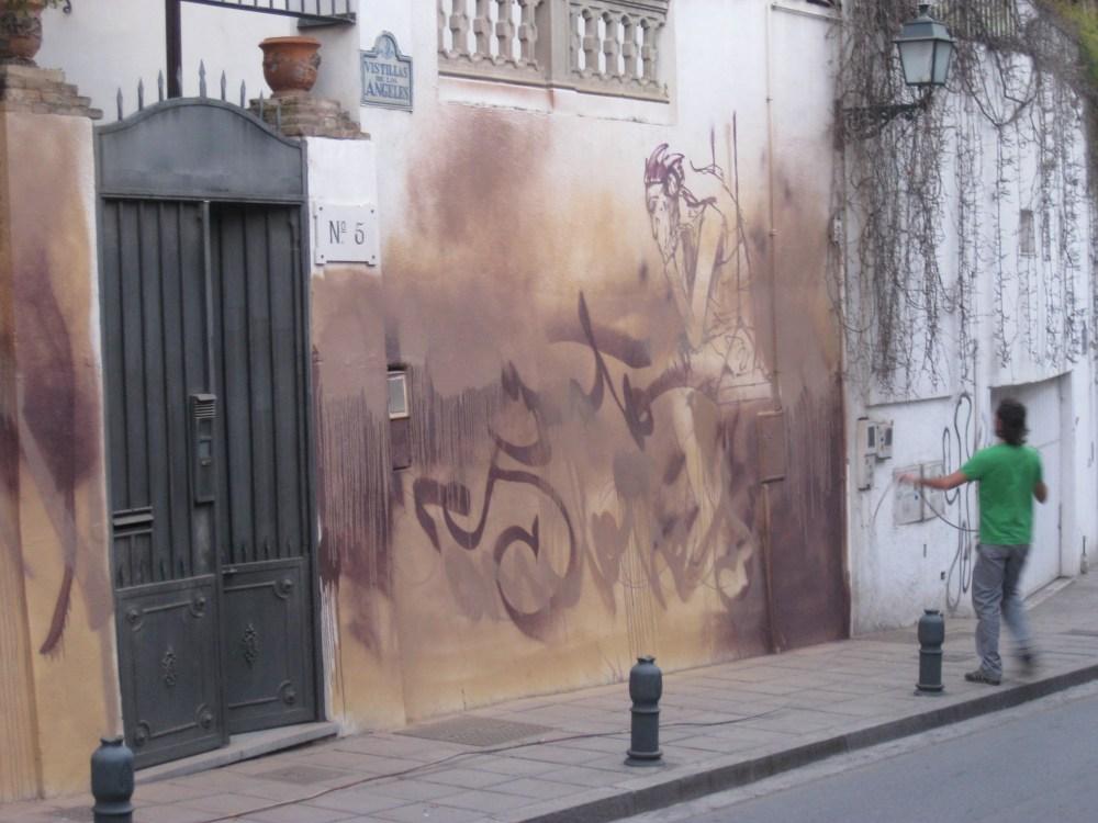 El Niño de las Pinturas at work. (5/6)