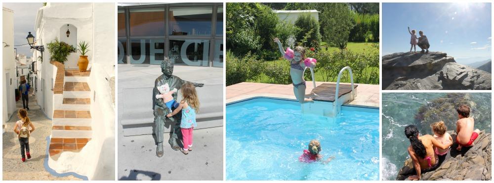 Kids have fun in Granada