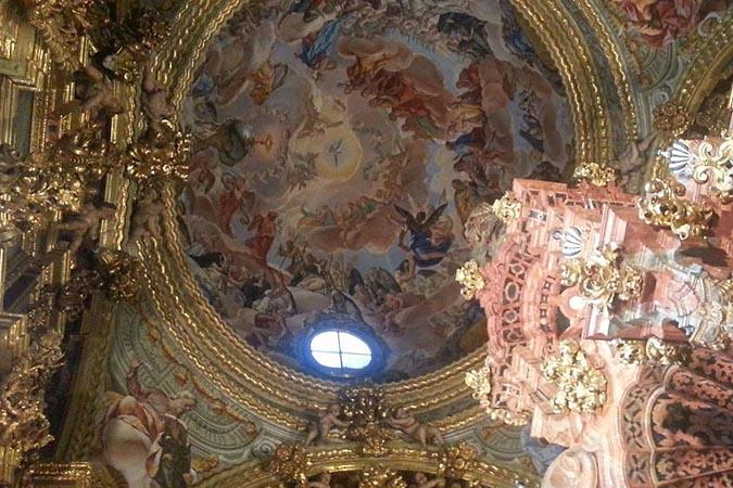Bóveda de la Sacristía del Monasterio de La Cartuja de Granada