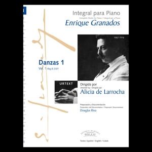 Foto portada Danzas 1 Enrique Granados