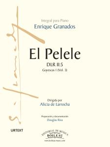 Foto portada El pelele - Granados