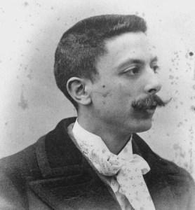 Foto Enrique Granados 1895