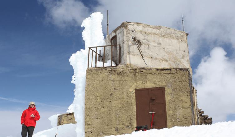 Vista del exterior del Refugio