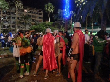 Night of the Carnival of Las Palmas