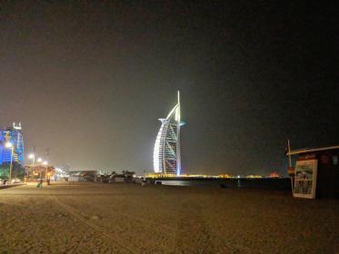 Burj Al Arab a noite