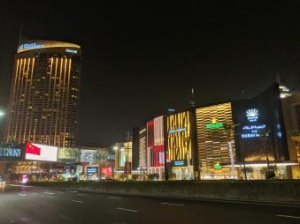 Dubai Mall a noite