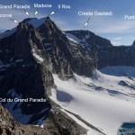 Le Grand Paradis vu du sommet de la Tresenta