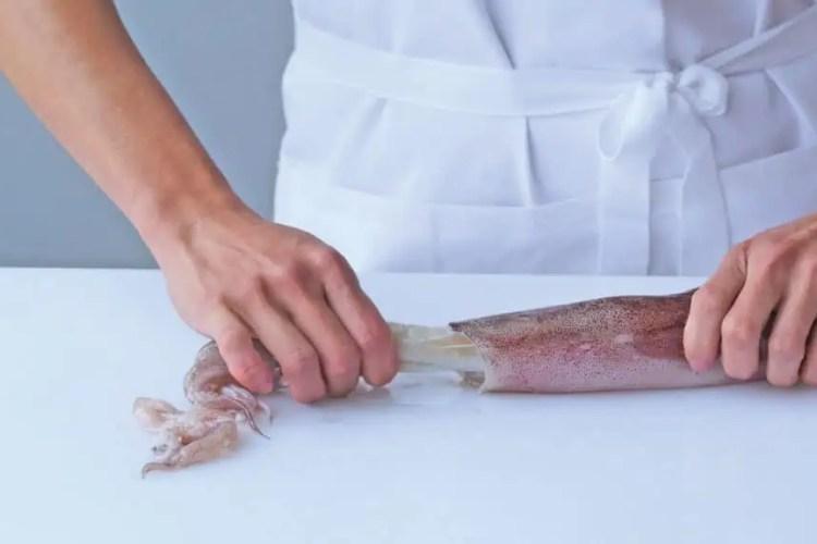 squid preparation