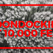 Episode 38: Boondocking at 10,000 Feet | RV travel Utah camping