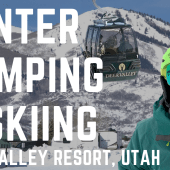 Episode 93: Winter RV Camping & Skiing | Utah travel Deer Valley