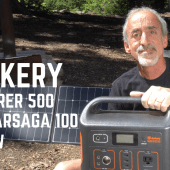 Ep. 115: Jackery Explorer 500 & SolarSaga 100 Lithium Power Bank Review | RV camping gear