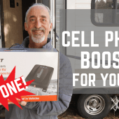Ep. 136: New Cell Phone Booster for Your RV | Hiboost Travel 4G 2.0 RV | Gear tips tricks how-to
